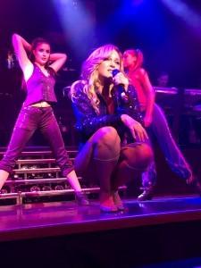 Madonna auf der Bühne