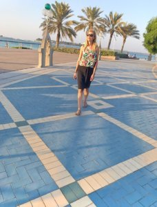 Everything in Abu Dhabi is beautifully maintained!