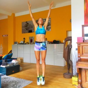 Always efficient: working out at home