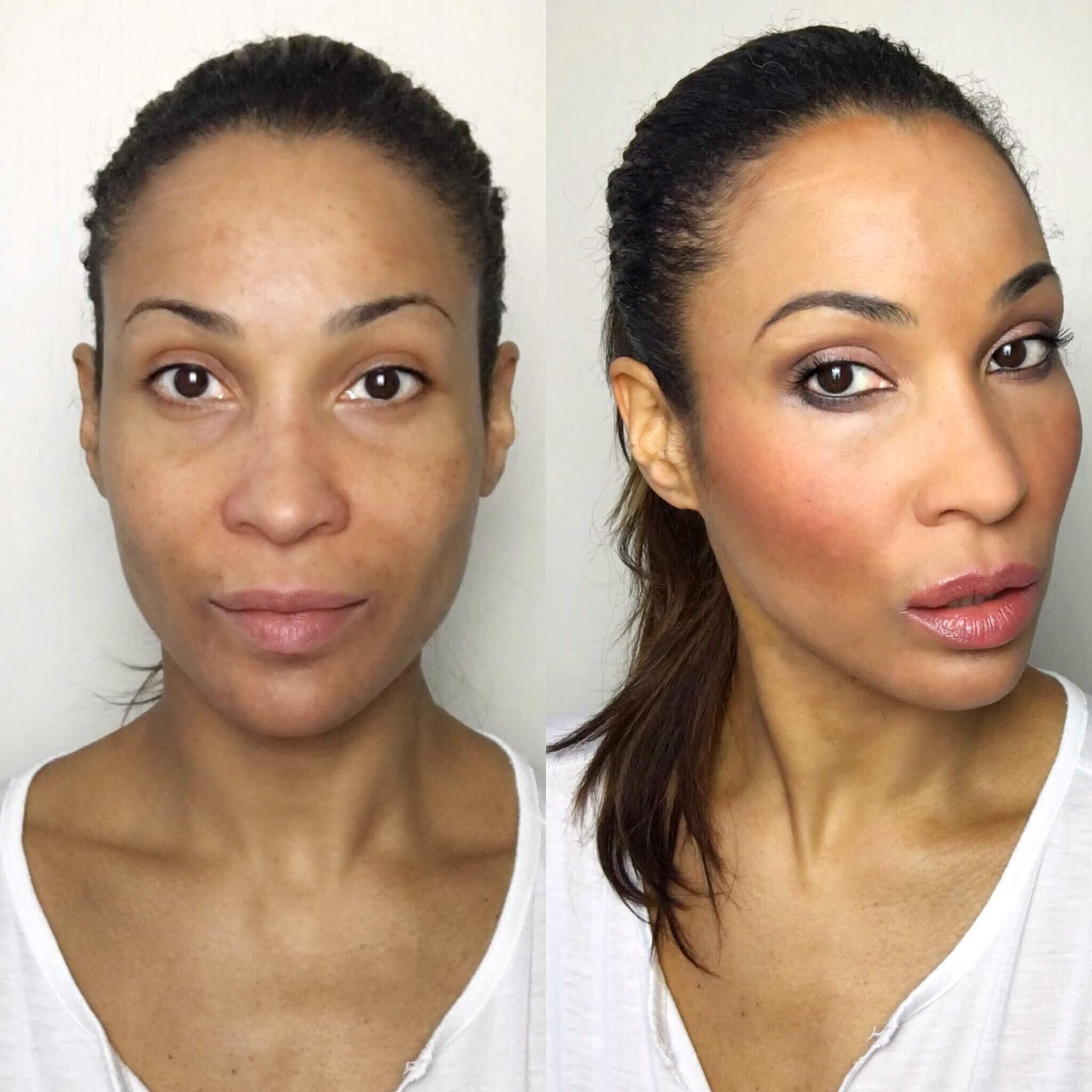 Abend Make-up! Unkompliziert und blitzschnell!