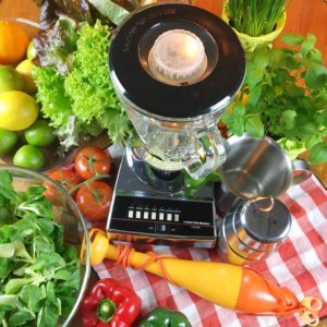 Salatdressings, die Werkzeuge