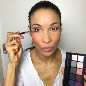 Abend Make-up dunkle Augen