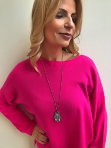 Pink oversize sweater