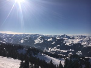Skiing in the Salzburger Land
