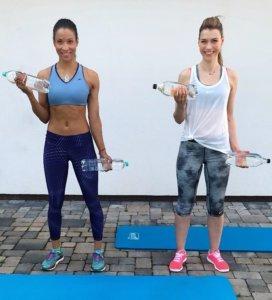 Oberkörperkräftigung mit Annett Möller-Bizeps