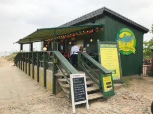 fish booth on Usedom