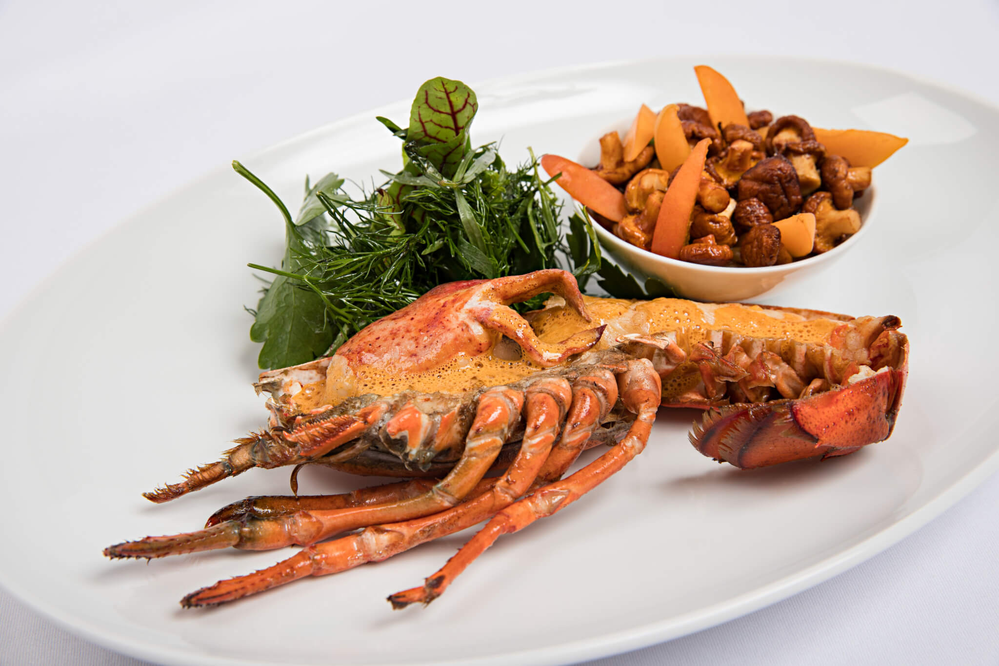 Lobster menu at the restaurant Duke – a tip!