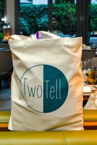 Goodiesbags TwoTell Ladiesdinner