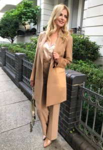 girlfriends style in camel