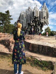 Sibelius memorial near Helsinki