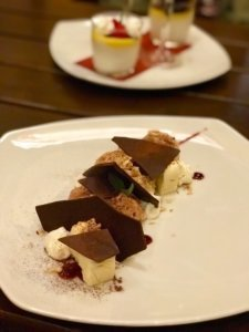 The dessert at Ausspanne
