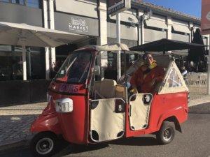 Lissabon Rikscha Taxis