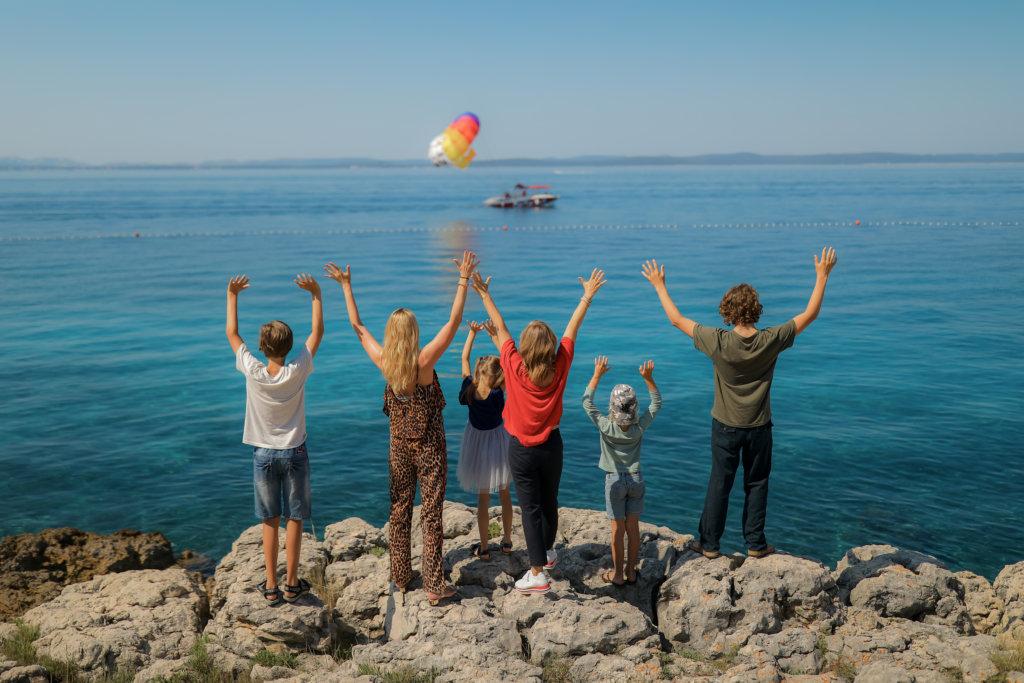 Urlaub mit kids